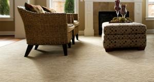clean carpeted floor