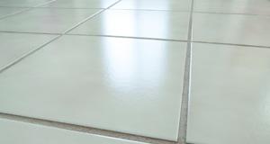 closeup of ceramic tile floor